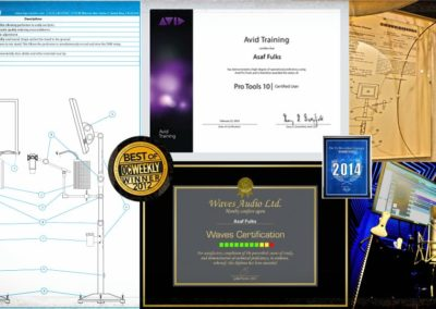 Asaf Fulks - Patents and Certificates